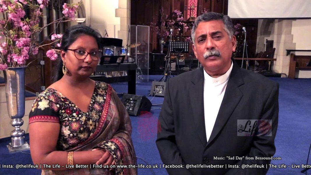 Sri Lanka pastor and wife